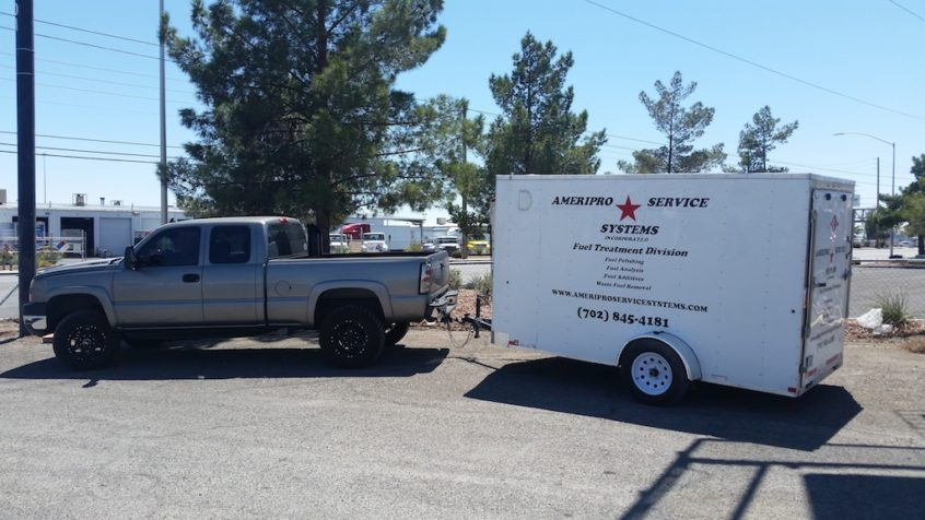 Ameripro Service Systems - Fuel Treatment Rig